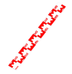 vertical water level staff gauge