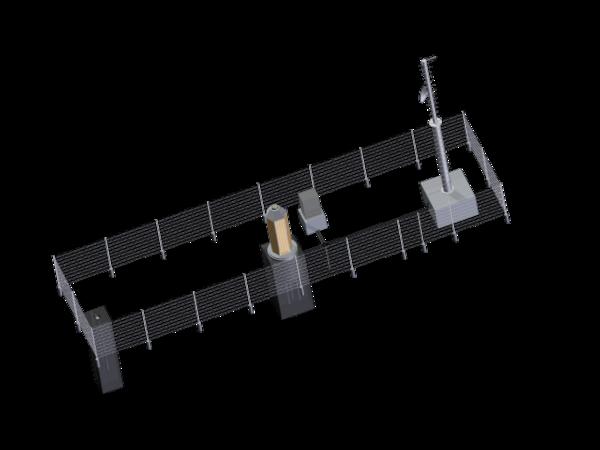 Highprecision network (3D) - a part of fehmarnbelt